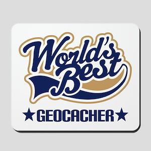 Worlds Best Geocacher Mousepad