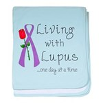 Living with Lupus One Day at baby blanket