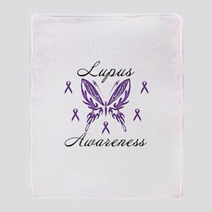 Lupus Awareness Throw Blanket