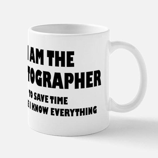 I am the Photographer Mug