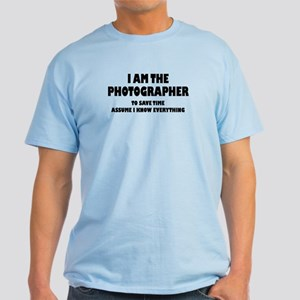 I am the Photographer Light T-Shirt