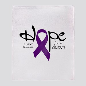 Hope - Lupus Throw Blanket