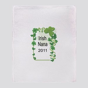IRISH NANA 2011 Throw Blanket