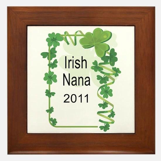 IRISH NANA 2011 Framed Tile