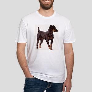 Jagdterrier portrait Fitted T-Shirt
