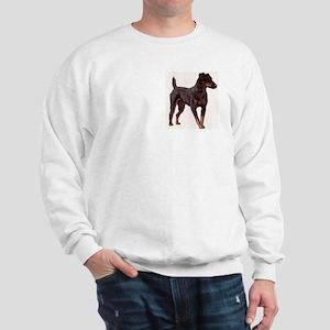 Jagdterrier portrait Sweatshirt