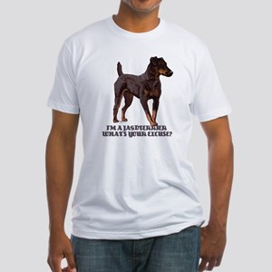 Jagdterrier Excuse Fitted T-Shirt