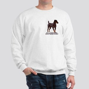 Jagdterrier Excuse Sweatshirt