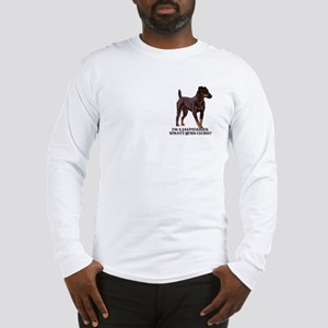 Jagdterrier Excuse Long Sleeve T-Shirt