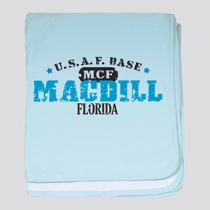 MacDill Air Force Base baby blanket