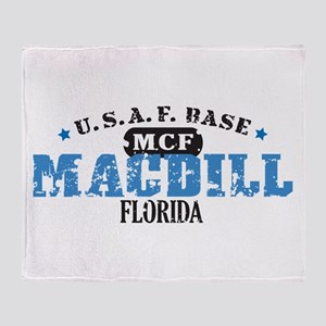 MacDill Air Force Base Throw Blanket