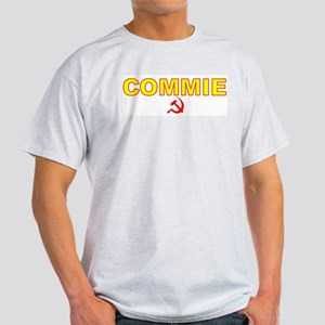 Commie - Sickle Ash Grey T-Shirt