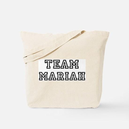 Team Mariah Tote Bag