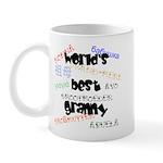 World's Best Granny Mug