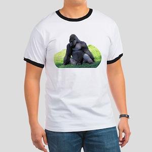 Gorilla in the Grass Ringer T