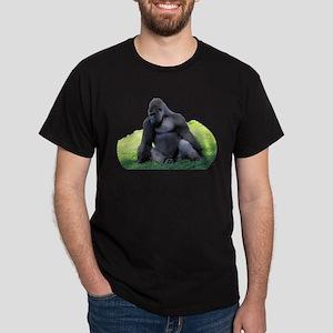 Gorilla in the Grass Dark T-Shirt