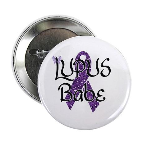 """Lupus Babe 2.25"""" Button"""