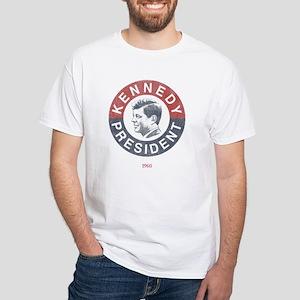 JFK for President White T-Shirt