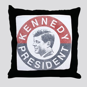 JFK for President Throw Pillow