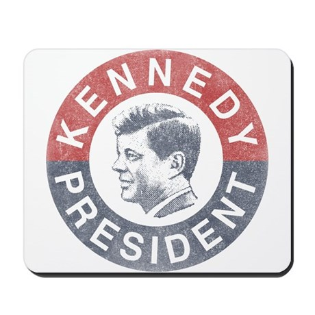 kennedy office supplies. JFK For President Mousepad Kennedy Office Supplies