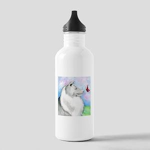 Sheltie Shetland Sheepdog Stainless Water Bottle 1