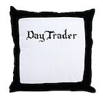 DayTrader Throw Pillow