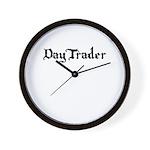 DayTrader Wall Clock