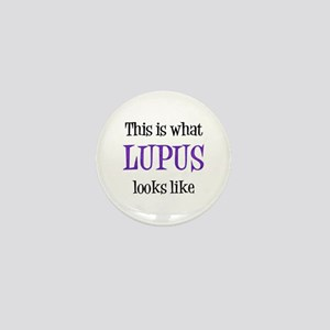 This is what Lupus looks like Mini Button
