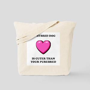 Hybrid Dog Cuter Tote Bag