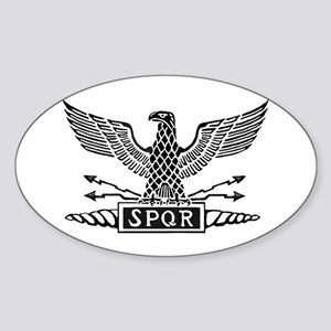 Roman Eagles Sticker (Oval)