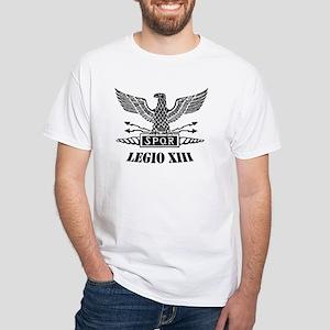 13th Roman Legion White T-Shirt