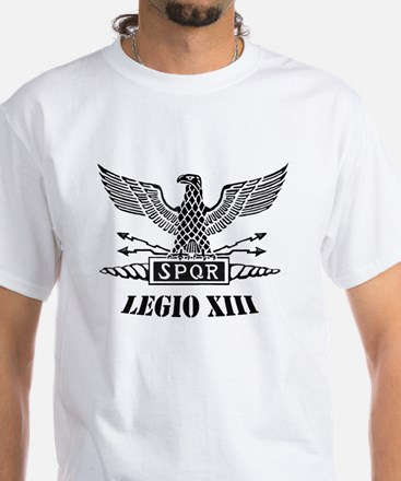 13th Roman Legion White T-Shirt
