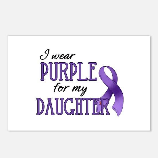 Wear Purple - Daughter Postcards (Package of 8)