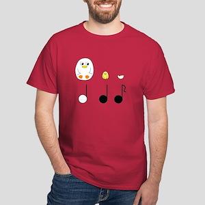 Musical Notes Dark T-Shirt