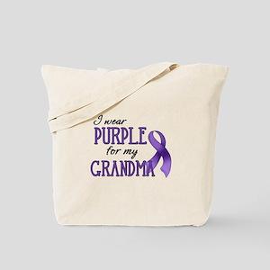 Wear Purple - Grandma Tote Bag