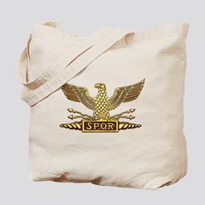 Gold Legion Eagle Tote Bag