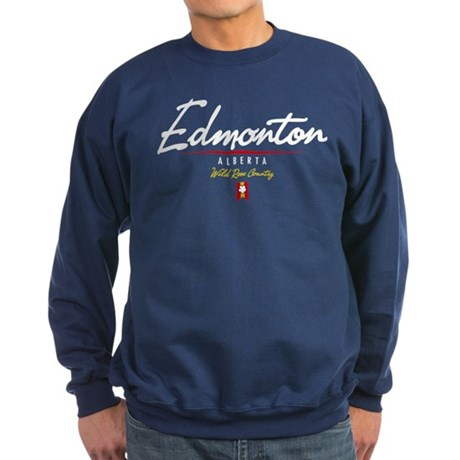 Edmonton Script Sweatshirt (dark)