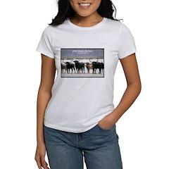 Wild Water Buffalo Photo Women's T-Shirt