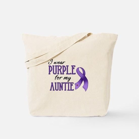 Wear Purple - Auntie Tote Bag
