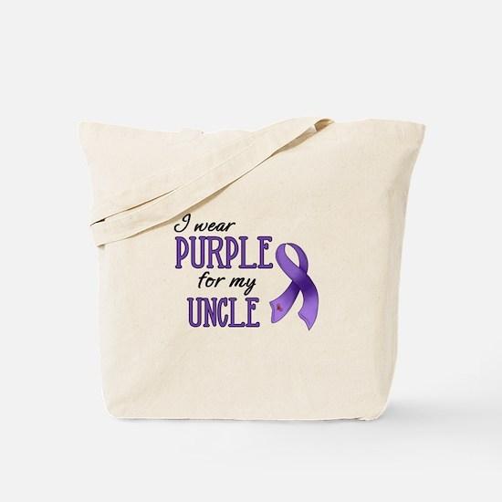 Wear Purple - Uncle Tote Bag