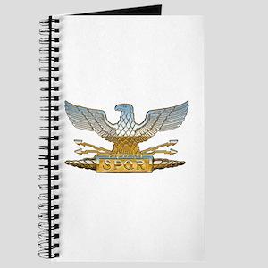 Chrome Roman Eagle Journal