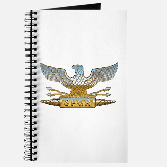 Chrome Roman Eagle Journal