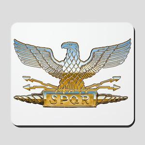 Chrome Roman Eagle Mousepad