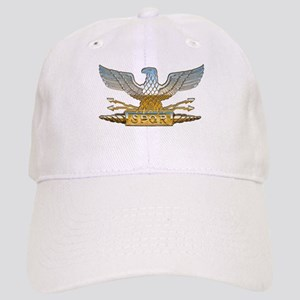Chrome Roman Eagle Cap
