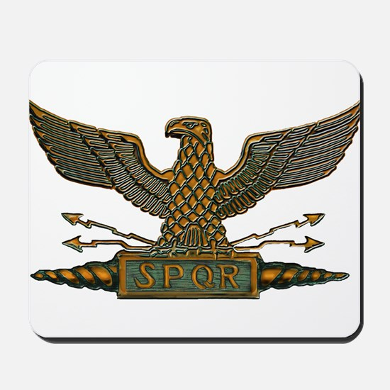 Roman Eagle in Copper Mousepad