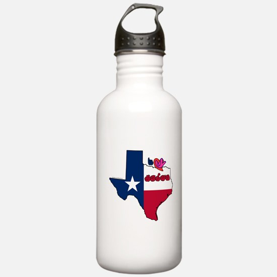 ILY Texas Water Bottle