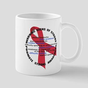 Stroke Warning Signs Mug