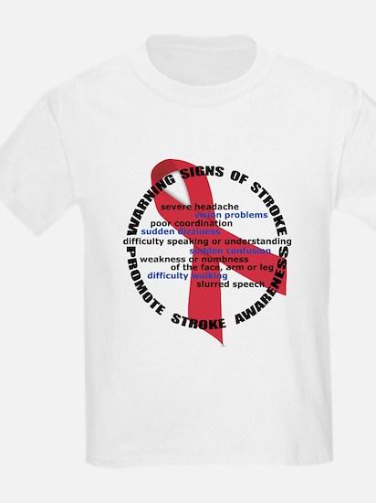 Stroke Warning Signs T-Shirt