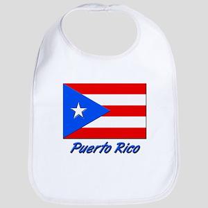 PUERTO RICO FLAG Bib