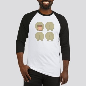 One of These Hippos! Baseball Jersey